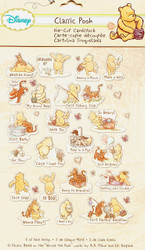 Disney Classic Pooh 66 Pieces Scrapbook Die Cuts EK Success NEW