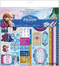 DISNEY FROZEN Page Kit 12x12 Scrapbooking Kit 140 PC EK SUCCESS 51-00122 New