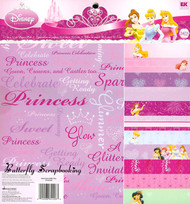 DISNEY PRINCESS 12x12 Paper Pad Scrapbook Kit EK SUCCES