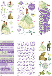 DISNEY PRINCESS AND THE FROG Scrapbook Kit EK SUCCESS