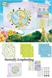Disney Tinkerbell FAIRY Collection 8x8 Scrapbooking Album Kit EK SUCCESS