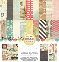 DIY Shop Collection 12X12 Scrapbooking Kit Crate Paper American Craft New