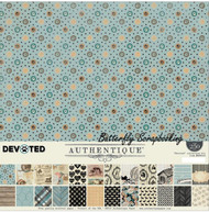 DOG & CAT DEVOTED Collection Kit 12x12 Scrapbooking Crafting Kit Authentique NEW