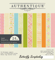 Easter Promise Collection 6x6 Scrapbooking Paper Crafting Pad Authentique NEW