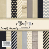 Etcetera Collection Scrapbooking 6x6 inch Paper Pad Fancy Pants 36 Sheet NEW
