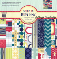FAMILY Family Is Collection Pack 12x12 Scrapbooking Kit BoBunny 13916634 New