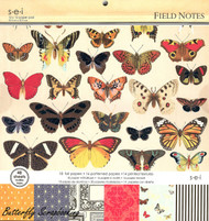 Field Notes Scrapbooking Paper Pad 12X12 Scrapbooking 48 Sheets SEI NEW