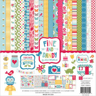 FINE AND DANDY Collection 12X12 Scrapbooking Kit Echo Park Paper Co FD69016 New