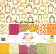 Flora Delight Collection 12X12 Scrapbooking Kit Kaisercraft Paper Pack NEW