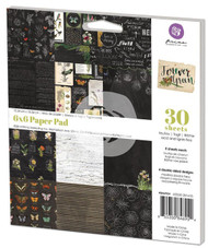 Forever Green Collection Scrapbooking 6x6 inch Paper Pad PRIMA Inc #846954 NEW