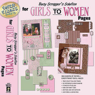 GIRLS TO WOMEN Scrapbook Kit Pizazz HOT OFF THE PRESS