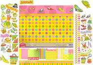 GLAMOR GIRLS 12X12 Scrapbooking Kit LIMITED NEW