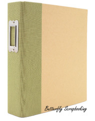 "Green & Craft 6"" x 8"" inch Scrapbooking Binder Snap Studio by Simple Stories NEW"