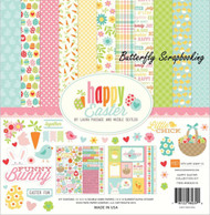 HAPPY EASTER Collection Kit 12X12 Scrapbooking Kit Echo Park Paper NEW