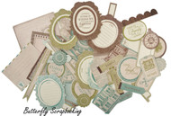 Heirloom Collectables Collection Scrapbooking 50 Die Cuts Kaisercraft NEW