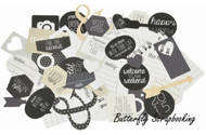 HELLO TODAY Collection Collectables Scrapbooking 50 pc Die Cuts Kaisercraft NEW