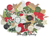 HOME CHRISTMAS Collectables Collection Scrapbooking 50 Die Cuts Kaisercraft New