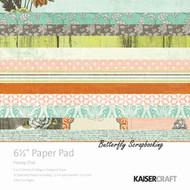 Honey Chai Collection 6.5 inch Paper Pad Scrapbooking Kit Kaisercraft NEW