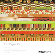 In The Attic Collection 6.5 inch Paper Pad Scrapbooking Kit Kaisercraft NEW