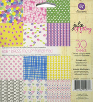 Julie Nutting Collection Scrapbooking 6x6 inch Paper Pad PRIMA 30 Sheets NEW