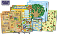 Kids Ancestry Family Tree 12X12 Scrapbooking Kit Karen Foster 20526 NEW