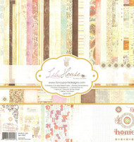 Lilac House Collection 12X12 Scrapbook Kit FANCYPANTS