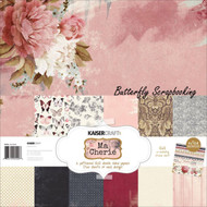 MA CHERIE Collection 12X12 Scrapbooking Kit Kaisercraft PK520 Paper Crafting NEW