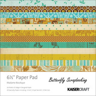 Madame Boutique Collection 6.5 inch Paper Pad Scrapbooking Kit Kaisercraft NEW