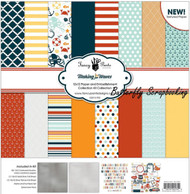 MAKING WAVES Collection Kit 12X12 Scrapbooking Kit Fancy Pants Designs 2534 New