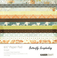 Marigold Collection 6.5 inch Paper Pad Scrapbooking Kit Kaisercraft NEW