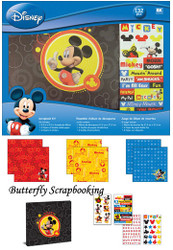 MICKEY Collection 8x8 Scrapbook Album Kit EK SUCCESS