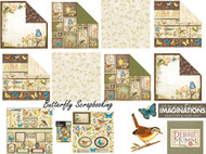 Nature Bird & Butterfly Debbie Mumm 12X12 Scrapbooking Kit Creative Imaginations