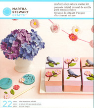 Nature Starter Kit Crafters Clay Martha Stewart Crafts Paper Crafting NEW