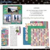 PARADISE TRAVEL 12X12 Scrapbooking Kit Paper Studio NEW