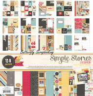 Photo Op 24/Seven Collection Kit 12X12 Scrapbooking Kit Simple Stories NEW