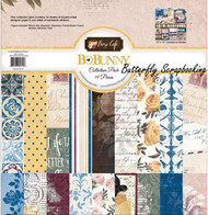 ROSE CAFE Collection Pack 12x12 Scrapbooking Kit BoBunny 17216719 New