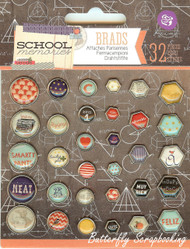 School Memories Collection Scrapbooking Brads PRIMA MARKETING INC., New - 569518