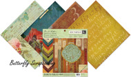 Scribe Specialty 12X12 Scrapbooking Paper Pad K&Company Brenda Walton 28 Sht New