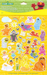 Sesame Street 78 Pieces Scrapbook Die Cuts EK Success NEW