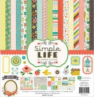 SIMPLE LIFE Collection 12X12 Scrapbooking Kit Echo Park Paper Co SL68016 New