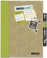 SMASH SCRAPBOOK Journal Album K&Company Eco Green NEW