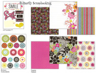 SMILE SASSY 8X8 Scrapbooking Kit Me & My BIG Ideas NEW