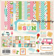 SOAK UP THE SUN 12X12 Scrapbooking Collection Kit Carta Bella CBSUS39016 NEW