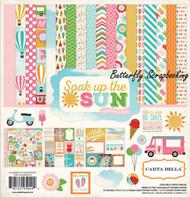 SOAK UP THE SUN 12X12 Scrapbooking Collection Kit Carta Bella CBSUS39016 NEW