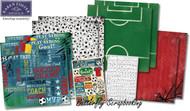 Soccer Champ Sports 12X12 Scrapbooking Kit Team Goal Soccer Karen Foster NEW