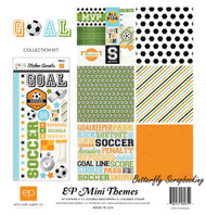Soccer Goal Collection Kit 12''X12'' Scrapbook Kit ECHO PARK PAPER - NEW, SW4305
