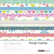 Suga Pop Collection 6.5 inch Paper Pad Scrapbooking Kit Kaisercraft NEW