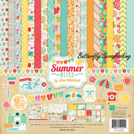 Summer Bliss Collection 12X12 Scrapbooking Kit Echo Park Paper Co Summer Fun NEW