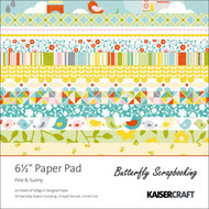 Summer Fine Sunny Collection 6.5 inch Paper Pad Scrapbooking Kit Kaisercraft NEW