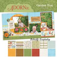 Summer Garden Fun Collection 12X12 Scrapbooking Paper Pack Adornit Carolees New